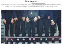 La mixité et la diversité : dans les chaussettes