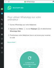 Opera (pc) : utiliser WhatsApp sur son PC